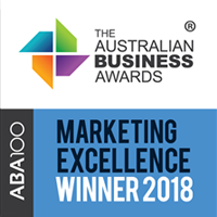 ABA100 Marketing Excellence Winner 2018
