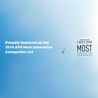 AFR Most Innovative Companies 2018